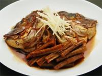 馥郁醤油(鯛のかぶと煮)