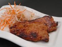 肉つけみそ(豚ロースの味噌漬け焼き)