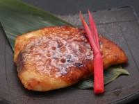 肉つけ味噌(メカジキの味噌焼き)