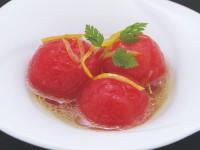 トマトのゆずレモンマリネ(レモンフレンチドレッシング(オルニチン入)