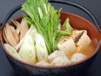 Bつみれとごぼうの胡麻辛鍋(胡麻辛鍋の素)
