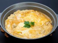 Bカキと豆腐の卵とじ(胡麻辛鍋の素)