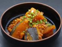 煮魚のたれ(たまり)(かぼちゃのそぼろ煮)