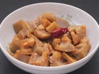 煮魚のたれ(たまり)(レンジDE料理ゴロッと蓮根きんぴら)