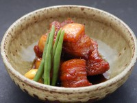 煮魚のたれ(たまり)(豚角煮)