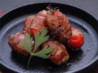 トンテキのたれ(肉巻きトマト)