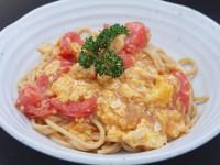 あんかけソース(トマトと卵のあんかけスパ)