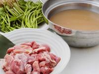 サムゲタン風鍋の素(鶏セリ鍋)